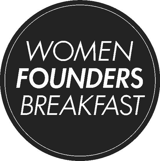 Women Founders Breakfast logo/sticker